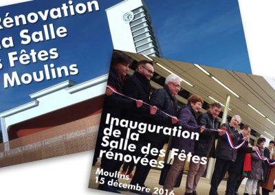 La rénovation de la Salle des Fêtes de Moulins
