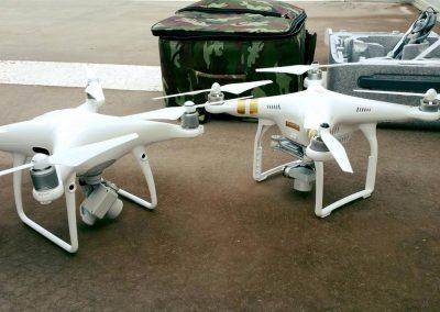 Moulins vue d'un drone
