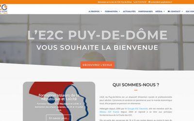 Web – Lancement du site de l'E2C Puy-de-Dôme