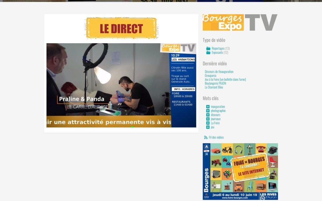 Bourges ExpoTV 2019, la webTV de la Foire de Bourges