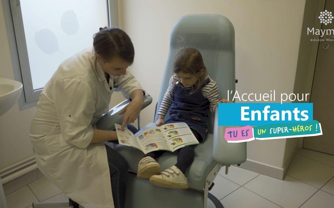 Vidéo | Laboratoires Maymat, l'accueil des enfants