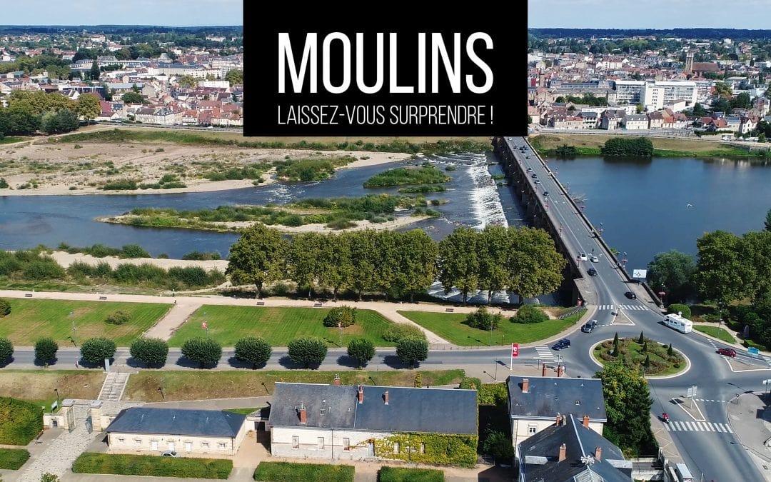 Vidéo | Campagne 2020 Office de Tourisme Moulins et Pays Bourbon